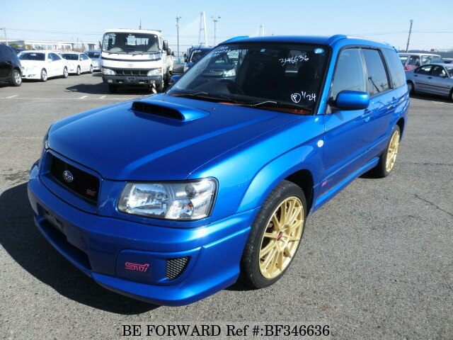 used 2004 subaru forester sti version ta sg9 for sale bf346636 be forward. Black Bedroom Furniture Sets. Home Design Ideas