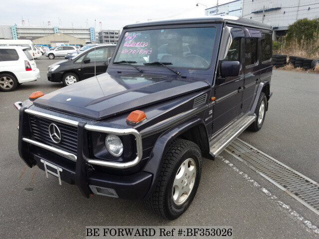 Used 1993 mercedes benz g class 500ge amg e 4632281 for for Mercedes benz g class for sale cheap