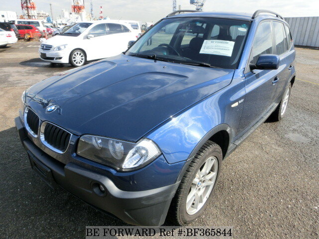 2005 bmw x3 gh pa25 d 39 occasion en promotion bf365844 be forward. Black Bedroom Furniture Sets. Home Design Ideas