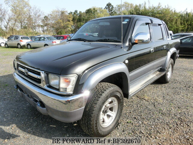 1997 toyota hilux sports pickup w cab wide body kb ln165h. Black Bedroom Furniture Sets. Home Design Ideas