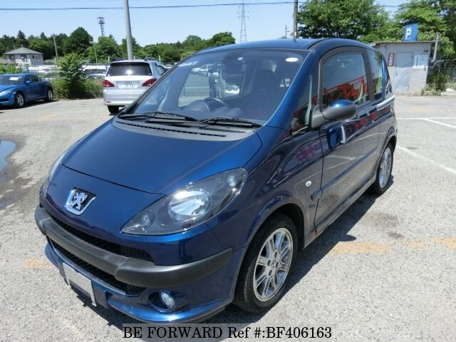 peugeot 1007 for sale used 2006 year model km bf406163 be forward japanese. Black Bedroom Furniture Sets. Home Design Ideas