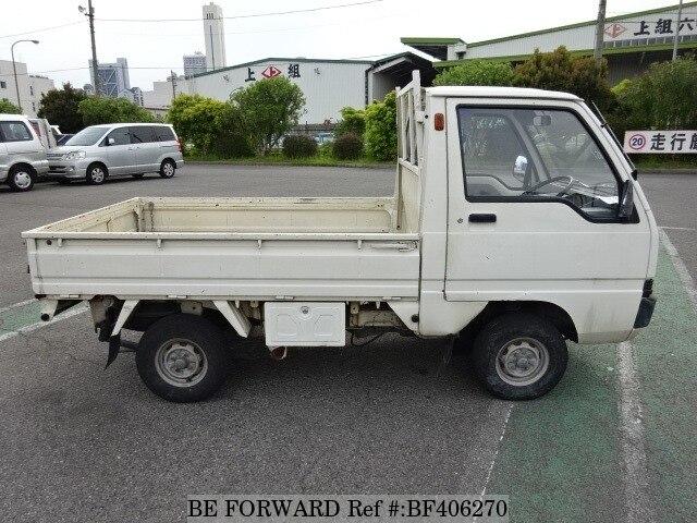 used 1989 mitsubishi minicab truck m u14t for sale bf406270 be forward. Black Bedroom Furniture Sets. Home Design Ideas