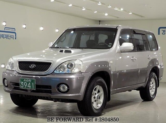 2002 hyundai terracan ex250 d 39 occasion en promotion is04850 be forward. Black Bedroom Furniture Sets. Home Design Ideas