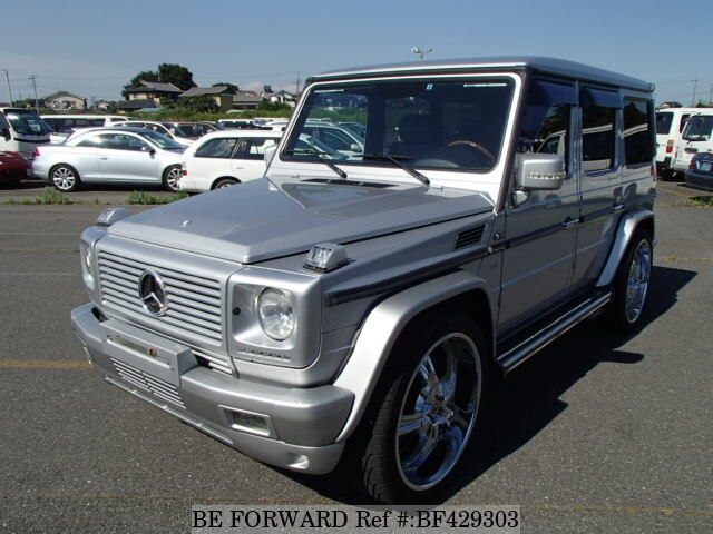mercedes benz g class sale used2000 bf429303 forward japanusedcars. Black Bedroom Furniture Sets. Home Design Ideas