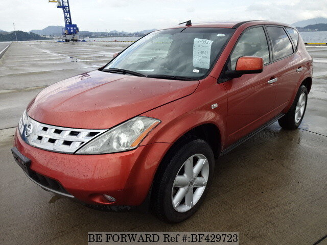used 2004 nissan murano 350xv cba pz50 for sale bf429723 be forward. Black Bedroom Furniture Sets. Home Design Ideas