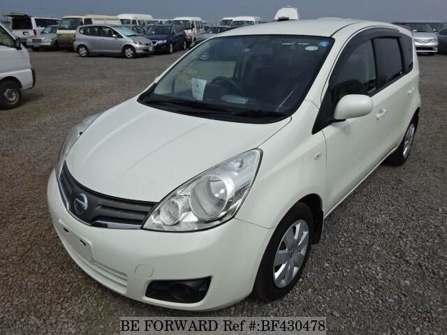 used 2010 nissan note 15x dba e11 for sale bf430478 be forward. Black Bedroom Furniture Sets. Home Design Ideas