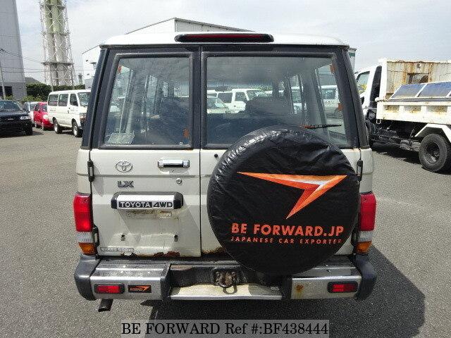 1996 toyota land cruiser 70 lx kc hzj77v d 39 occasion en promotion bf438444 be forward. Black Bedroom Furniture Sets. Home Design Ideas