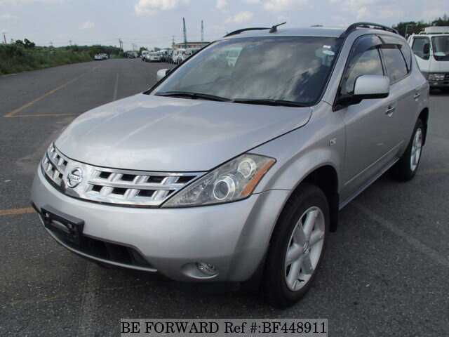 used 2004 nissan murano 350xv four cba pnz50 for sale bf448911 be forward. Black Bedroom Furniture Sets. Home Design Ideas