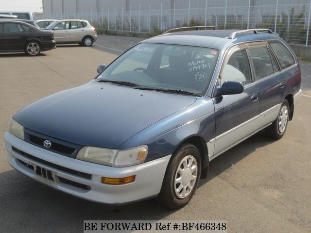 used 1996 toyota corolla touring wagon g touring e ae100g for sale bf466348 be forward. Black Bedroom Furniture Sets. Home Design Ideas