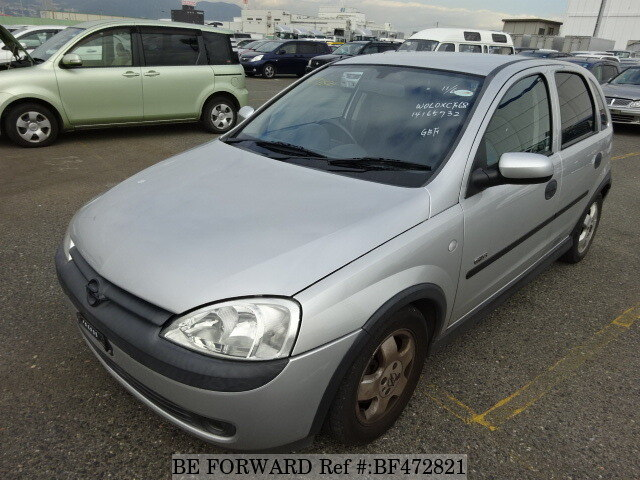 Opel Vita For Sale Used 2001 Year Model Km Bf472821 Niji7 Com Be Forward Japanese
