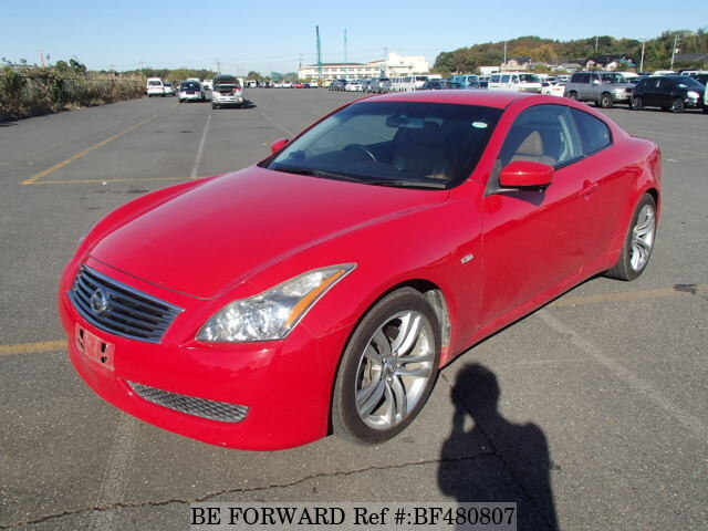 used 2009 nissan skyline coupe 370gt type pdbackv36 for