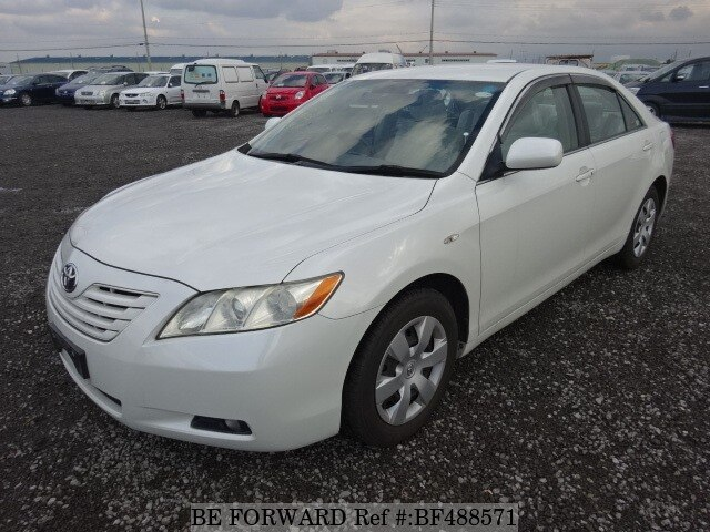 used 2008 toyota camry g dba acv40 for sale bf488571 be forward. Black Bedroom Furniture Sets. Home Design Ideas
