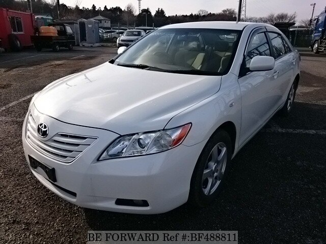 used 2008 toyota camry g dba acv40 for sale bf488811 be forward. Black Bedroom Furniture Sets. Home Design Ideas