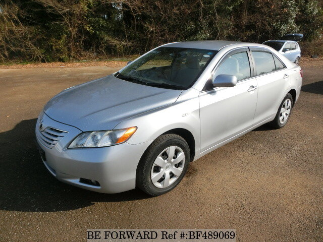 used 2008 toyota camry g four dba acv45 for sale bf489069 be forward. Black Bedroom Furniture Sets. Home Design Ideas