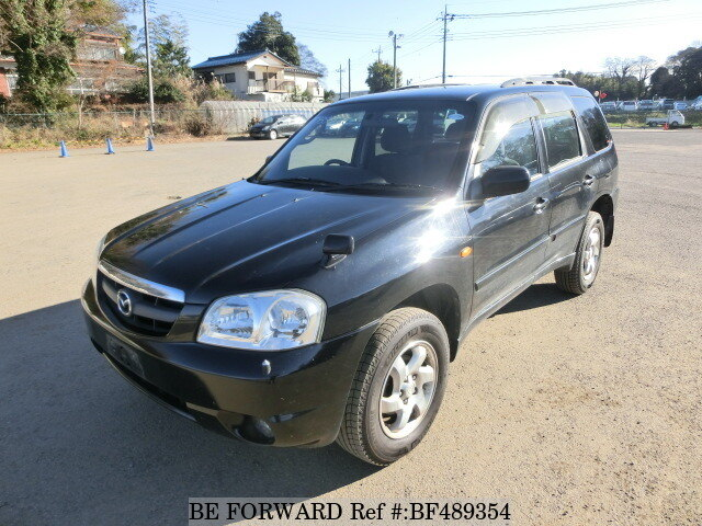 used 2002 mazda tribute lx ta epew for sale bf489354 be. Black Bedroom Furniture Sets. Home Design Ideas