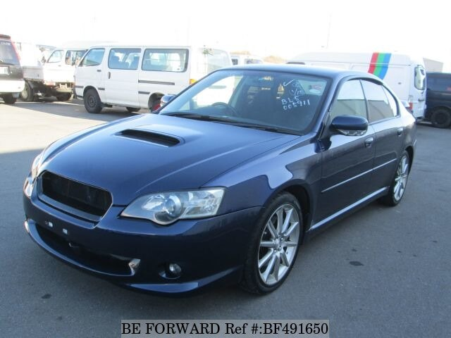 used 2003 subaru legacy b4 2 0 gt spec b ta bl5 for sale bf491650 be forward. Black Bedroom Furniture Sets. Home Design Ideas