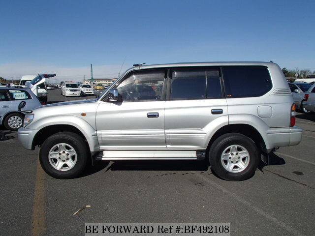 used 1998 toyota land cruiser prado tz e vzj95w for sale. Black Bedroom Furniture Sets. Home Design Ideas
