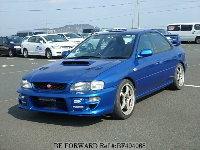 used 1998 subaru impreza wrx sti wrx type ra sti ver v ltd gf gc8 for sale bf494068 be forward. Black Bedroom Furniture Sets. Home Design Ideas
