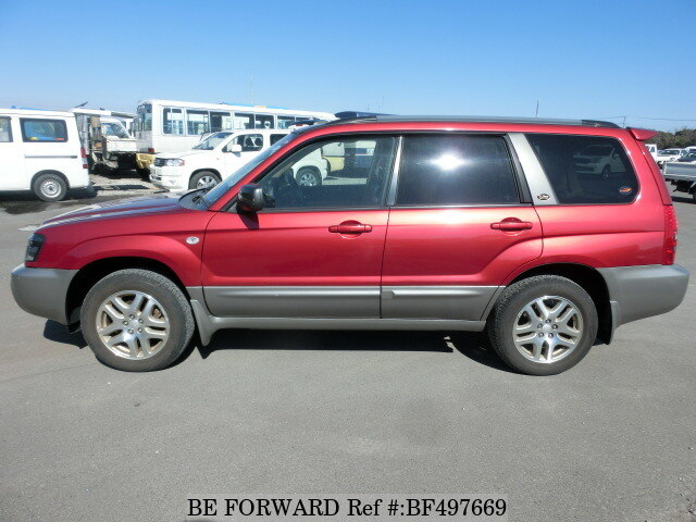 used 2003 subaru forester x20 ta sg5 for sale bf497669 be forward. Black Bedroom Furniture Sets. Home Design Ideas