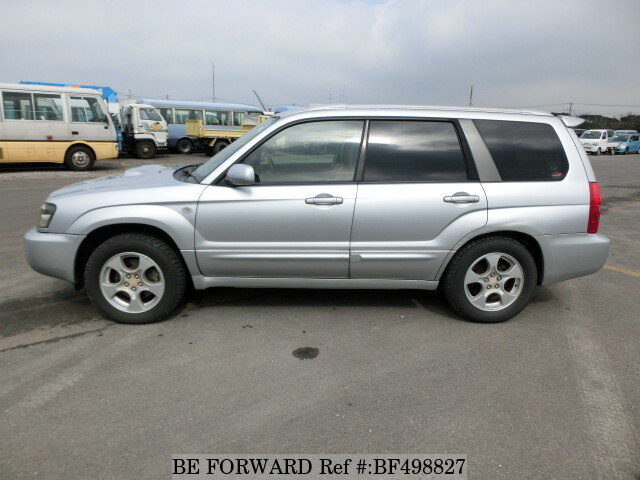 used 2003 subaru forester xt ta sg5 for sale bf498827 be forward. Black Bedroom Furniture Sets. Home Design Ideas