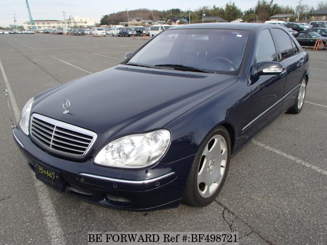 Used 1999 mercedes benz s class s500 l gf 220175 for sale for Used s500 mercedes benz for sale