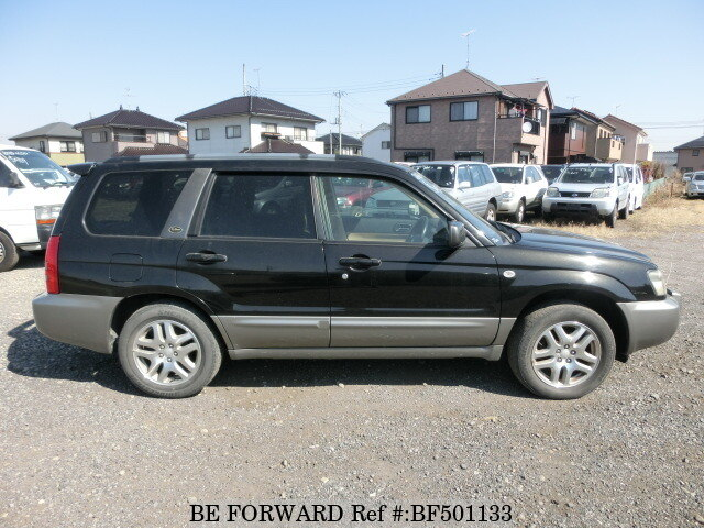 used 2003 subaru forester l l bean edition ta sg5 for sale bf501133 be forward. Black Bedroom Furniture Sets. Home Design Ideas