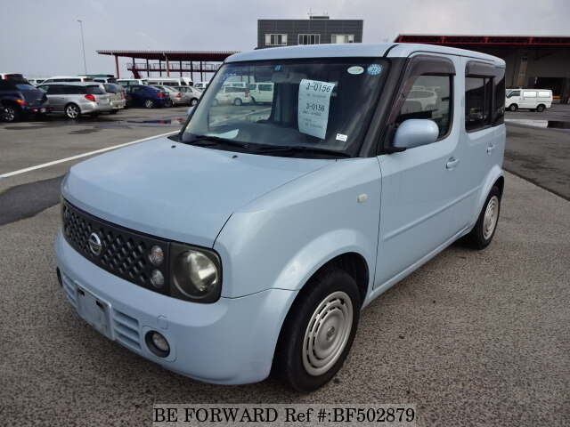2005 nissan cube dba bz11 d 39 occasion en promotion bf502879 be forward. Black Bedroom Furniture Sets. Home Design Ideas