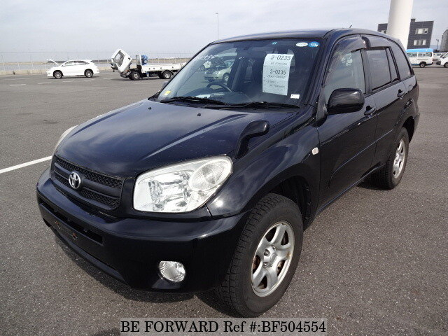 used 2005 toyota rav4 x limited cba aca21w for sale bf504554 be forward. Black Bedroom Furniture Sets. Home Design Ideas