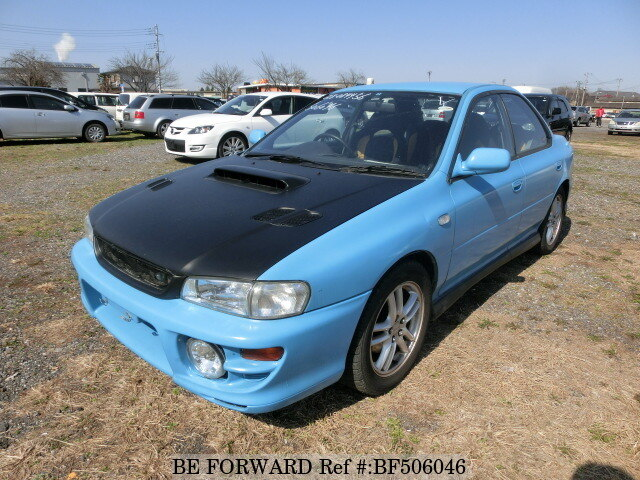 used 1999 subaru impreza wrx wrx gf gc8 for sale bf506046 be forward. Black Bedroom Furniture Sets. Home Design Ideas