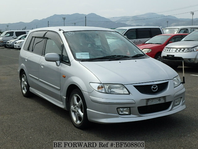 used 2001 mazda premacy sports package gf cp8w for sale. Black Bedroom Furniture Sets. Home Design Ideas