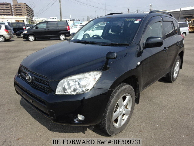 used 2007 toyota rav4 g dba aca31w for sale bf509731 be. Black Bedroom Furniture Sets. Home Design Ideas