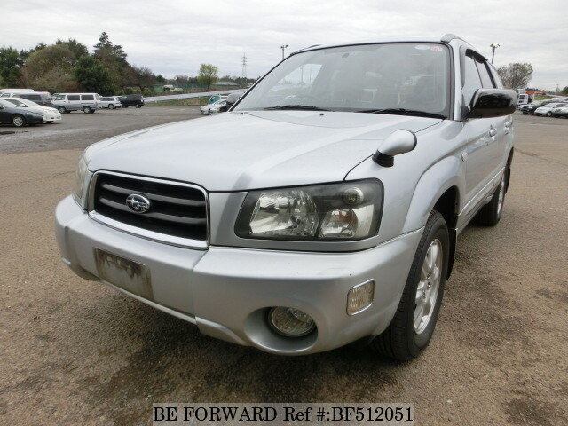 used 2003 subaru forester x ta sg5 for sale bf512051 be forward. Black Bedroom Furniture Sets. Home Design Ideas