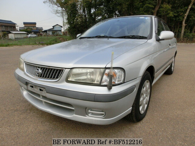 Used 2001 Nissan Sunny Ex Saloon Gf Fb15 For Sale Bf512216