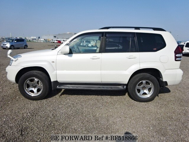 used 2005 toyota land cruiser prado tz cba grj121w for sale bf518866 be forward. Black Bedroom Furniture Sets. Home Design Ideas