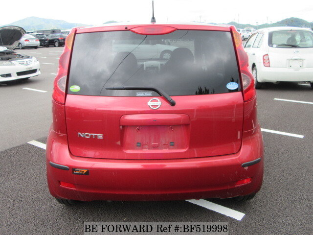 used 2007 nissan note 15m dba e11 for sale bf519998 be forward. Black Bedroom Furniture Sets. Home Design Ideas