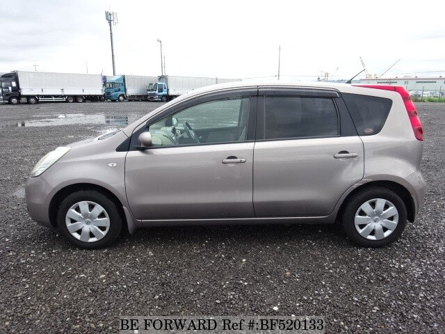 used 2007 nissan note 15m dba e11 for sale bf520133 be. Black Bedroom Furniture Sets. Home Design Ideas