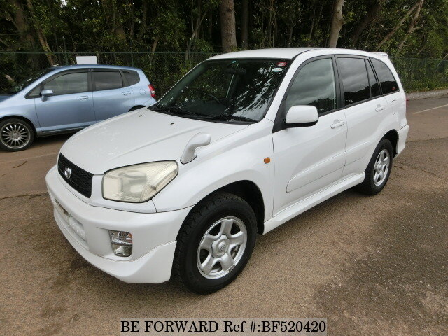 used 2002 toyota rav4 l aero sports ta zca26w for sale bf520420 be forward. Black Bedroom Furniture Sets. Home Design Ideas