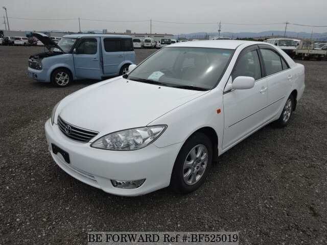 toyota camry for sale used 2005 year model km bf525019 be forward japanese. Black Bedroom Furniture Sets. Home Design Ideas