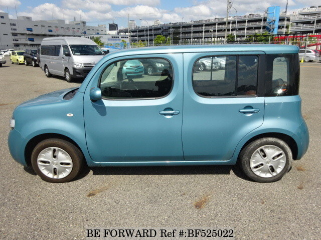 used 2010 nissan cube 15s dba z12 for sale bf525022 be forward. Black Bedroom Furniture Sets. Home Design Ideas