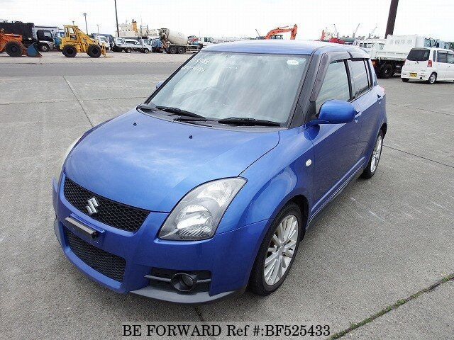 used 2006 suzuki swift sport cba zc31s for sale bf525433 be forward. Black Bedroom Furniture Sets. Home Design Ideas