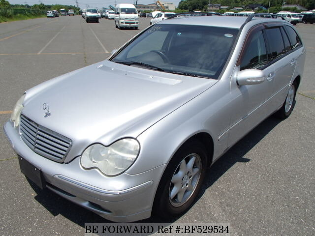 Used 2001 mercedes benz c class c200 kompressor gf 203245 for Mercedes benz c class 2001