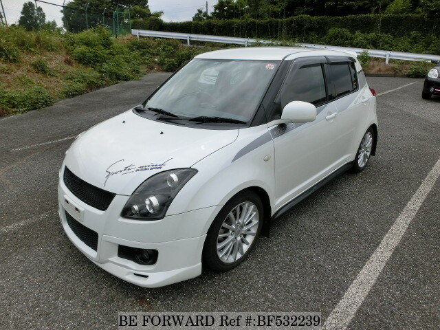 used 2006 suzuki swift sport cba zc31s for sale bf532239 be forward. Black Bedroom Furniture Sets. Home Design Ideas