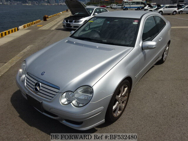 Used 2007 mercedes benz c class c200 komp sports coupe for Buy cheap mercedes benz