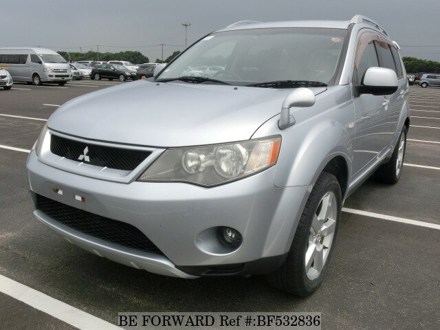 used 2005 mitsubishi outlander dba cw5w for sale bf532836. Black Bedroom Furniture Sets. Home Design Ideas