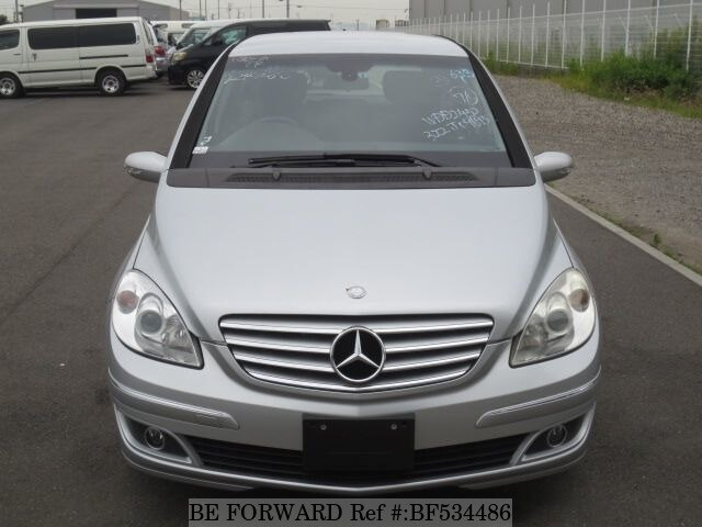 used 2006 mercedes benz b class b170 cba 245232 for sale bf534486 be forward. Black Bedroom Furniture Sets. Home Design Ideas
