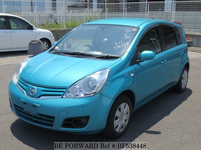 used 2010 nissan note dba e11 for sale bf538448 be forward. Black Bedroom Furniture Sets. Home Design Ideas