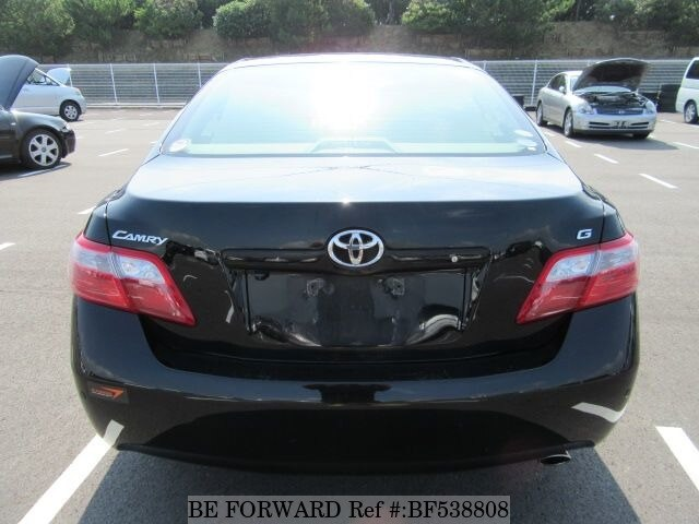 used 2008 toyota camry g dignis edition dba acv40 for sale bf538808 be forward. Black Bedroom Furniture Sets. Home Design Ideas