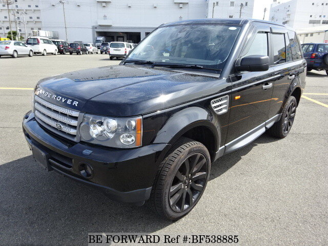 used 2006 land rover range rover sport supercharged aba ls42s for sale bf538885 be forward. Black Bedroom Furniture Sets. Home Design Ideas