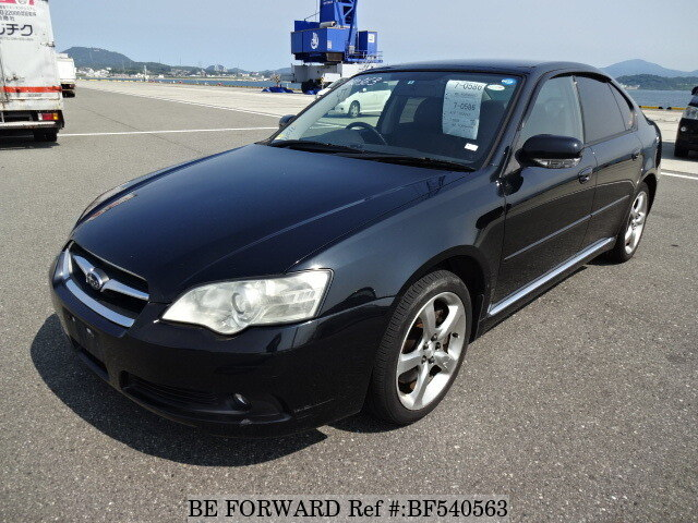 used 2003 subaru legacy b4 3 0r ua ble for sale bf540563. Black Bedroom Furniture Sets. Home Design Ideas