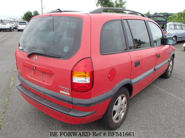 used 2001 opel zafira gf xm181 for sale bf541661 be forward. Black Bedroom Furniture Sets. Home Design Ideas